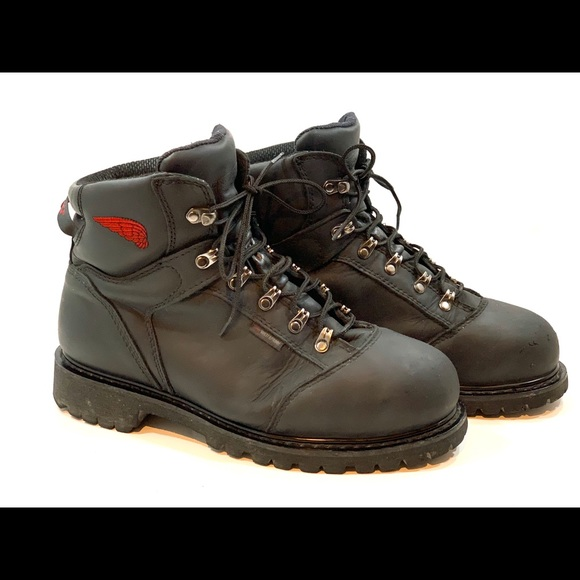 high quality new arrival 100% authentic Red wing men steel toe work boots